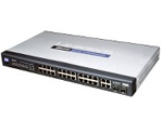 Linksys SRW224P 24 Port Switch With PoE +2 GBIC